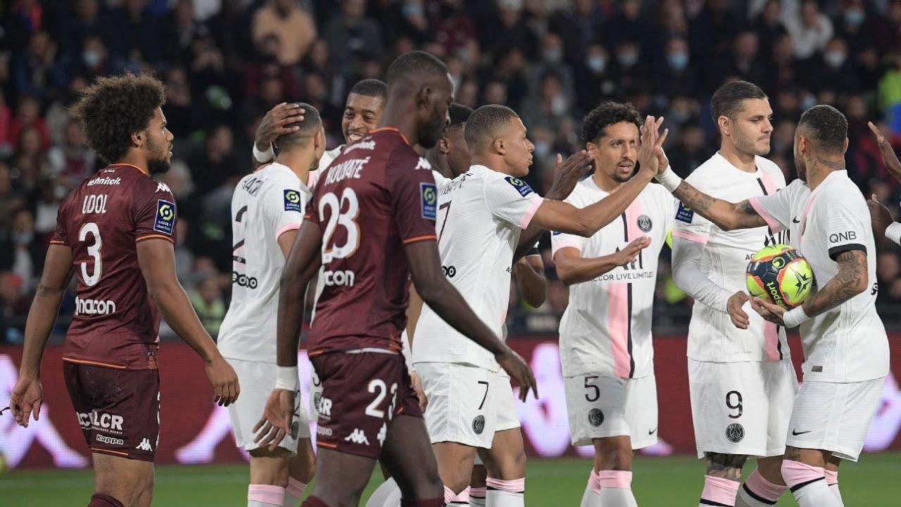 Metz vs. Paris Saint-Germain - Football Match Report - September ...