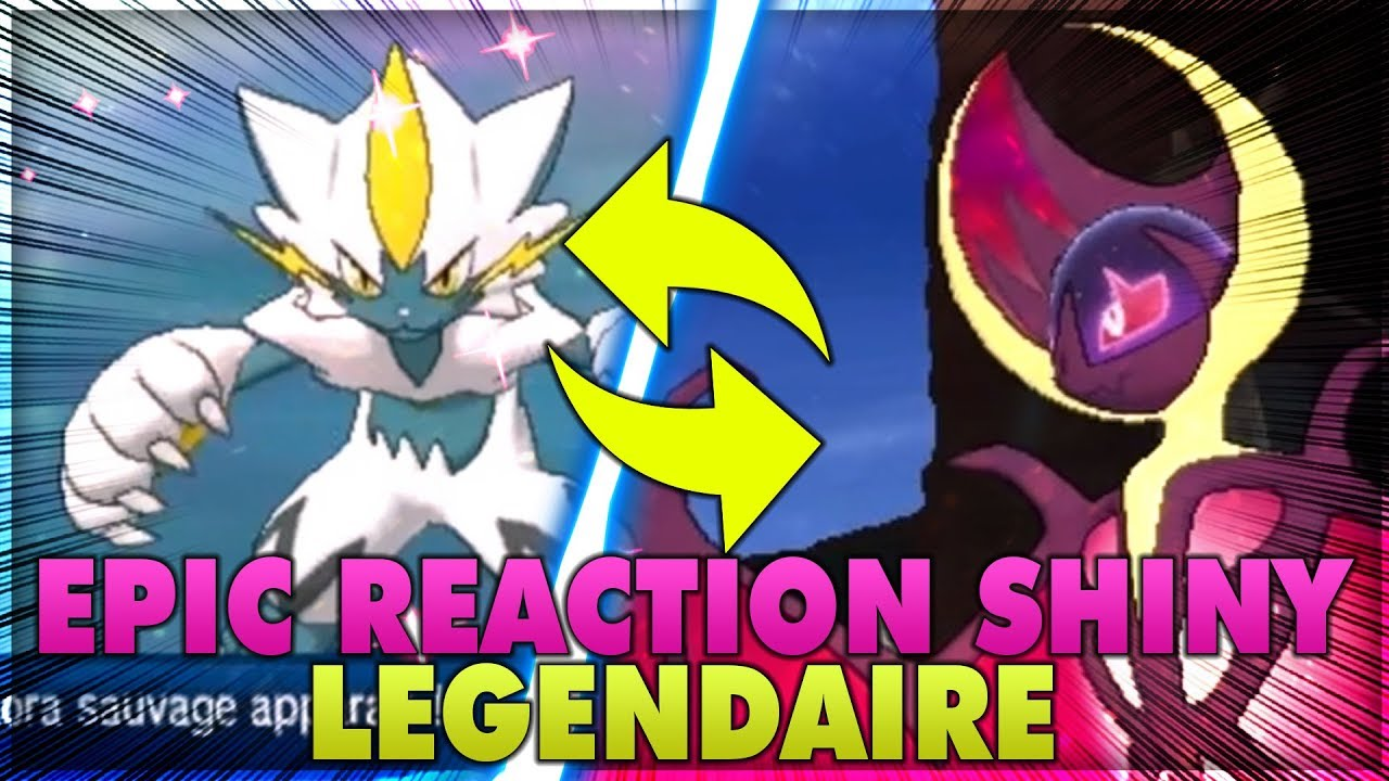 5 r actions incroyables de l gendaires shiny youtube - Legendaire shiney ...