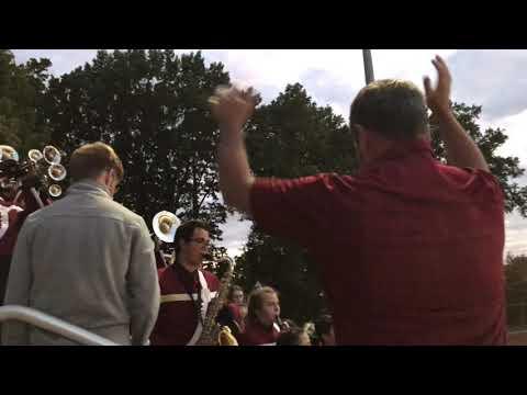 Bishop Watterson High School Marching Band Football Friday Night 2019