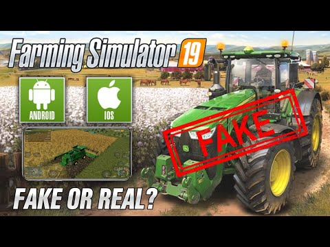 Farming Simulator 2019 | FS 19 For Android & IOS It's FAKE!