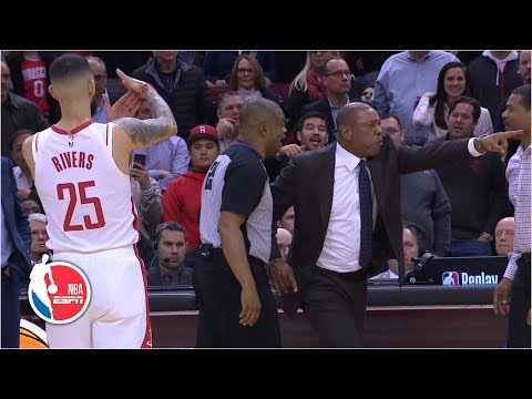 Doc Rivers Reacts To Son Austin Rivers Calling For His Dad's Ejection | NBA Sound