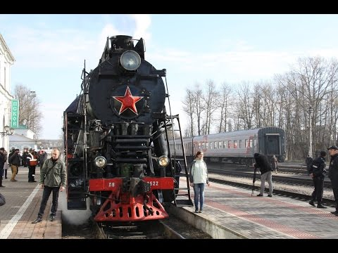 Pskov e Novgorod su Treno Retro