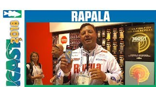 Rapala Slab Rap Lipless Crankbait NEW Colors with Tony Roach | iCast 2018