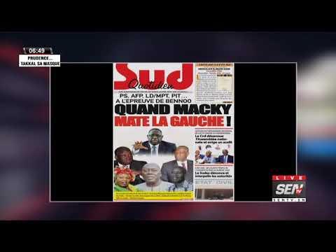 La revue des titres avec Fabrice Nguema du vendredi 25 Septembre