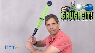 Crush-It! Baseball Bat from Tucker Toys