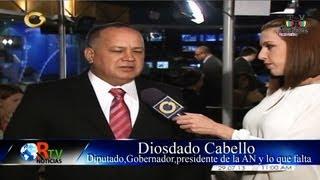 Rtv Noticias - Diosdado Cabello en Globovisión - #PeroTenemosPatria