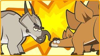 Dinosaur Cartoons for Children | Learn Dinosaur Facts Learn Dinosaur Names for Kids I