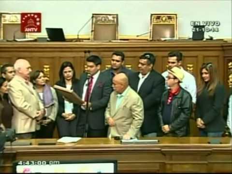 Artistas leen agradecimiento a Asamblea Nacional por Ley de Protección al Artista