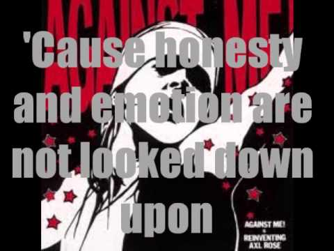 Against Me! - Reinventing Axl Rose (Lyrics on Screen)