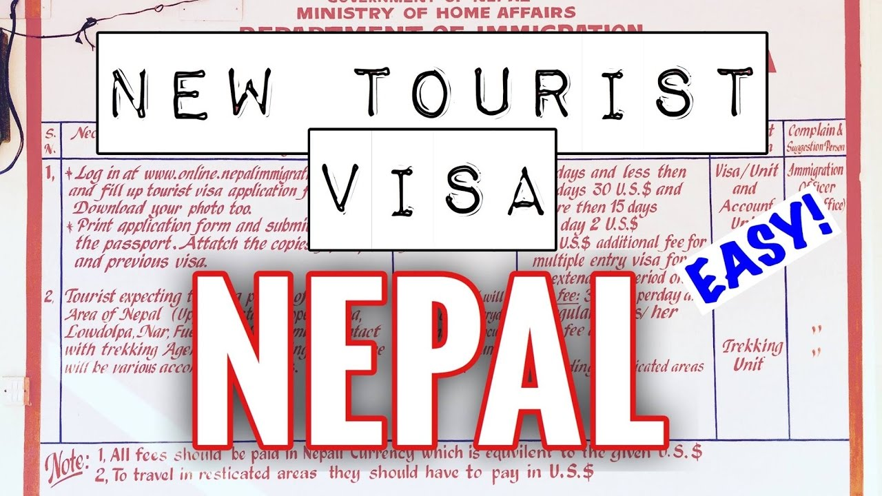 EXTENDING A TOURIST VISA IN NEPAL. SUPER EASY!! - YouTube