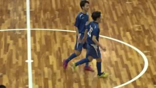 第22回全日本ユース(U-15)フットサル大会 準決勝 ACカラクテル vs 長岡JYFC U-15
