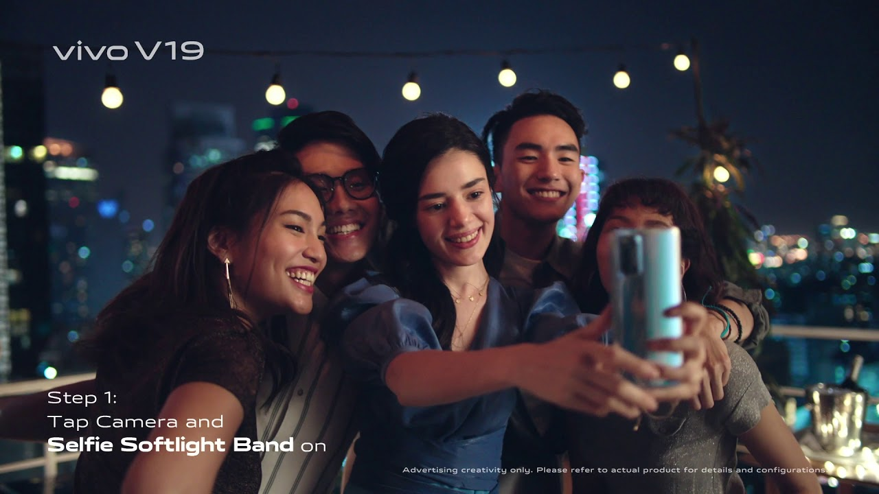 vivo V19 | How To Take Super Night Selfies