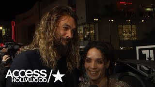 'Justice League': Jason Momoa On Why He Wanted To Play Aquaman    Access Hollywood