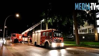 Gewonde bij uitslaande brand in flatwoning Zwijndrecht
