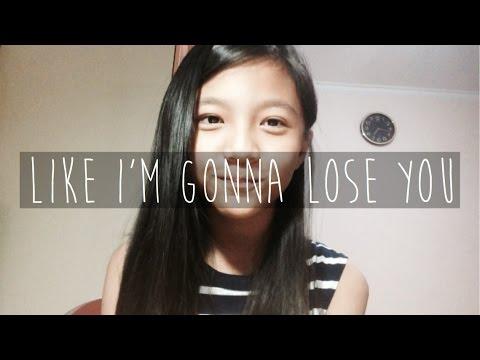 LIKE IM GONNA LOSE YOU  Meghan Trainor ft John Legend  Misellia Ikwan 11 years old