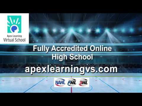 Apex Learning Virtual School, Official Education Partner of the NAHL since 2014