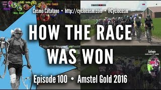 How the Race Was Won: 2016 Amstel Gold Race
