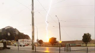 Lightning Strikes Wellington Zephyrometer! (original)