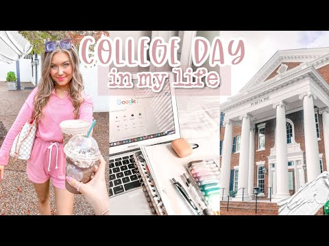 College Day In My Life | First Day Back On Campus | The University of Alabama
