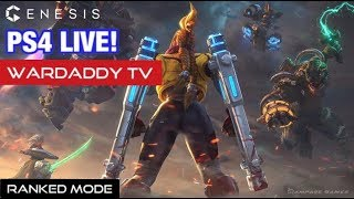 GENESIS Ranked Mode (PS4 MOBA) | ASIA Server (LIVE) #39