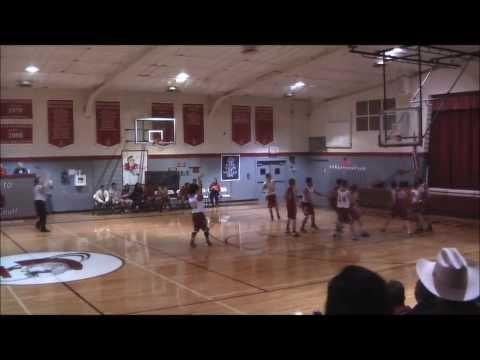 Josh Cortez Varsity Point Guard Highlights vs Ascension Christian Academy 1/18/14