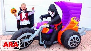 فلاد ونيكيتا لديهم حفلة هالوين