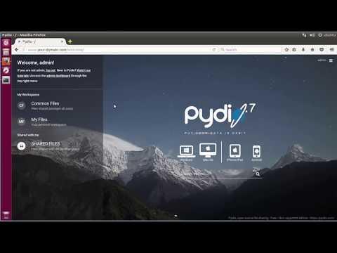 How To Install Pydio cloud storage  with LAMP Server on Ubuntu 16