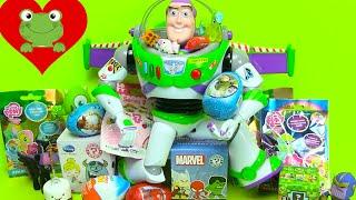Surprise Eggs Unboxing Buzz Lightyear BFFs MLP Huevos Sorpresa