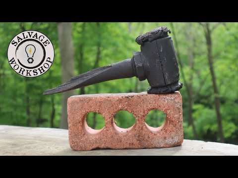 1930's Refractory Hammer ~ RESTORATION With An ANTIQUE PATINA