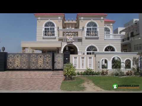 BEAUTIFULLY CONSTRUCTED BRAND NEW BUNGALOW IS AVAILABLE FOR SALE IN DHA PHASE 6 LAHORE