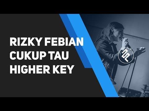 Rizky Febian - Cukup Tau Piano Karaoke Instrumental / Higher Key / Lirik