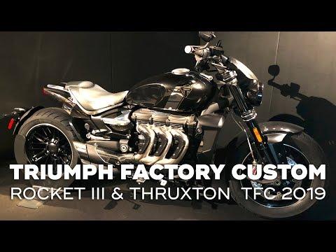 Triumph Rocket III & Thruxton TFC  - Triumph Factory Custom
