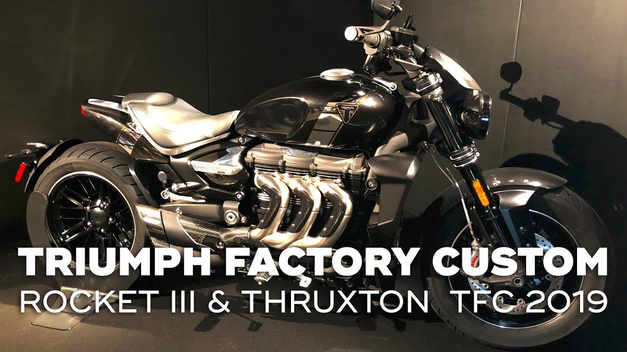 Triumph Rocket Iii Thruxton Tfc 2019 Triumph Factory Custom