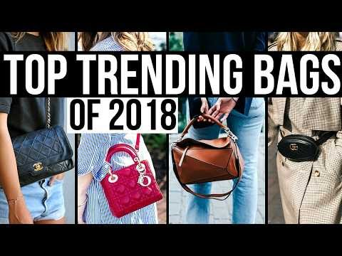 TOP TRENDING DESIGNER HANDBAGS FOR 2018!