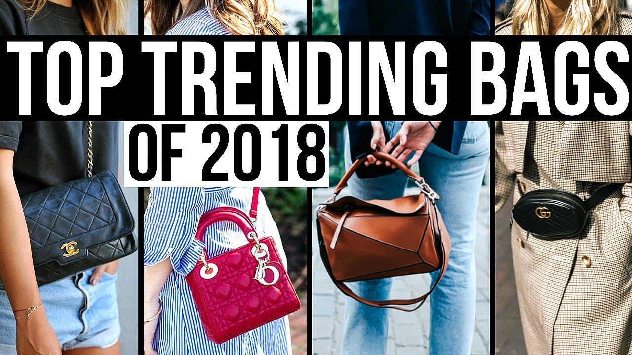 95ffb9f3ee1c TOP TRENDING DESIGNER HANDBAGS FOR 2018! - YouTube