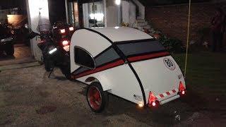 Gambar cover mini casa rodante para moto