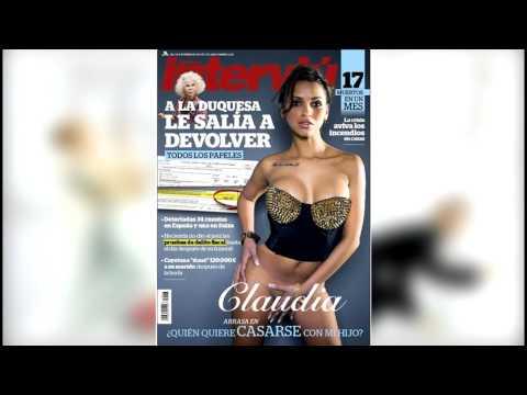 Claudia Desnuda En Interviú Sin Terminar El Programa Quién Quiere