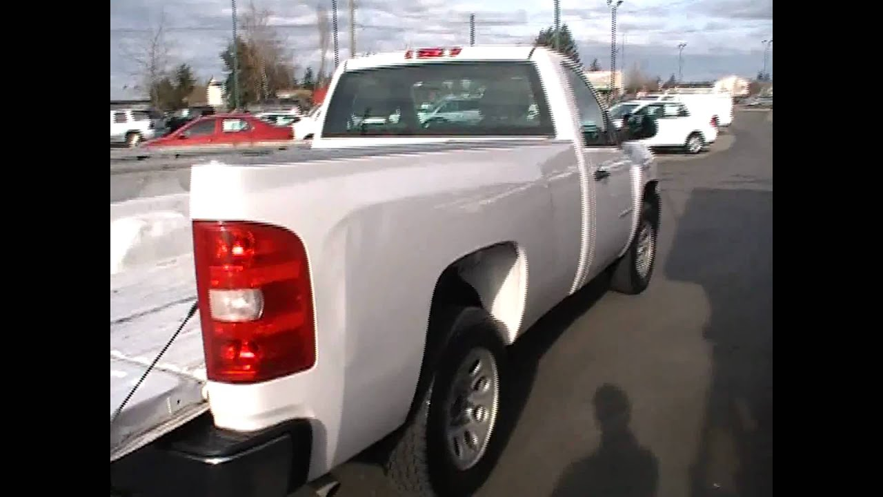 2008 Chevrolet Silverado 1500 Regular Cab Work Truck ...