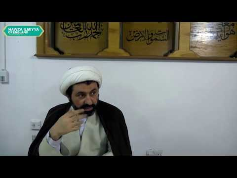 Introduction to Logic (Lecture 1), Sheikh Dr Shomali, 23 Jan 2018