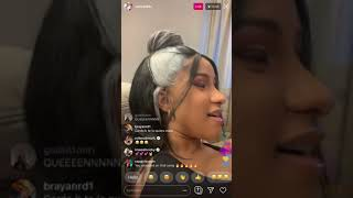 Cardi B Talks About South Of The Border By Ed Sheeran Camila Cabello And Herself