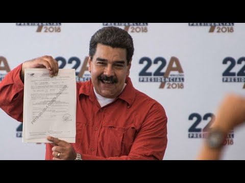 Maduro officially lodges candidacy for Venezuela re-election