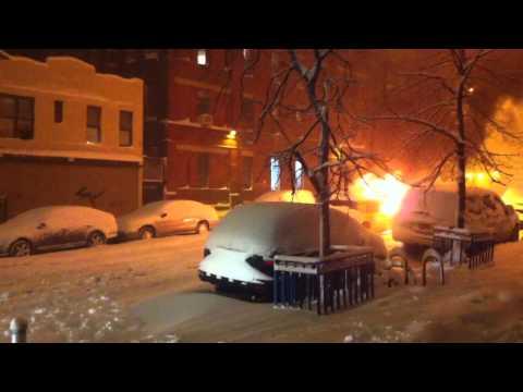 Williamsburg Taxi Fire 1/26/11