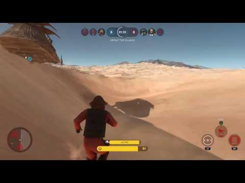 Star wars battlefront nien nunb glitch