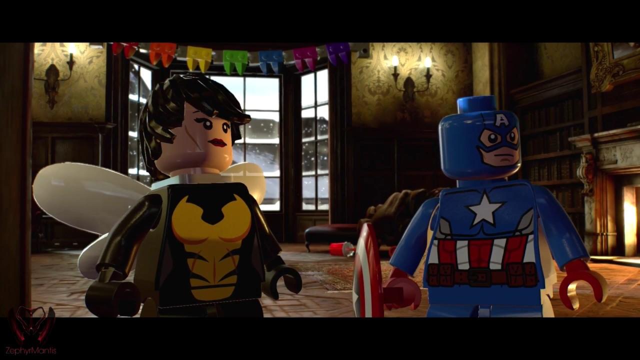 lego marvel superheroes 2 pc black screen