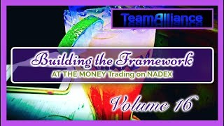 Building the Framework - AT THE MONEY Trading on NADEX Vol. (16)   #TeamAlliance