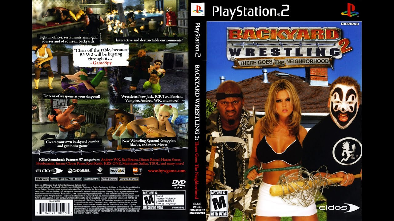 backyard wrestling 2 first impressions | wrestling game review