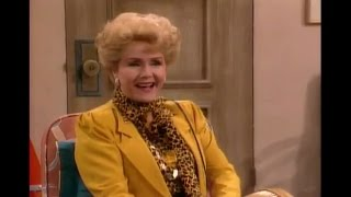 Debbie Reynolds on The Golden Girls