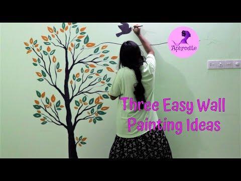 Three Easy Wall Painting Idea
