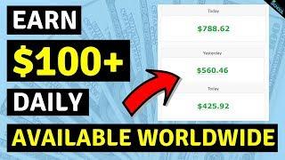 Заработай $ 100 в День Онлайн! Заработать Деньги в Интернете   Автоматические Сервисы по Заработку Денег