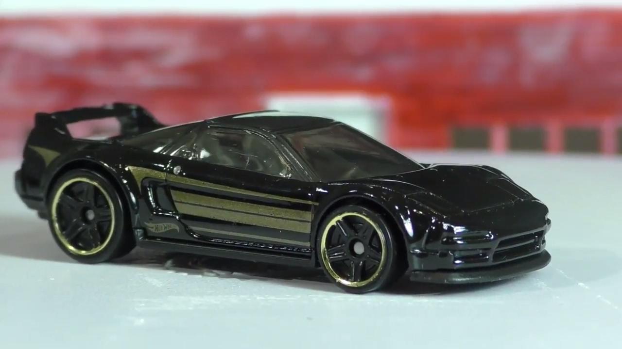 2017 Hot Wheels L Case #262 - '90 Acura NSX - YouTube